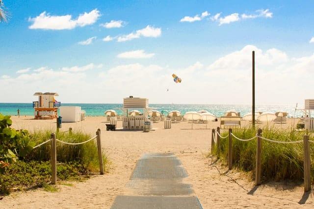 Miami Beach en Floride