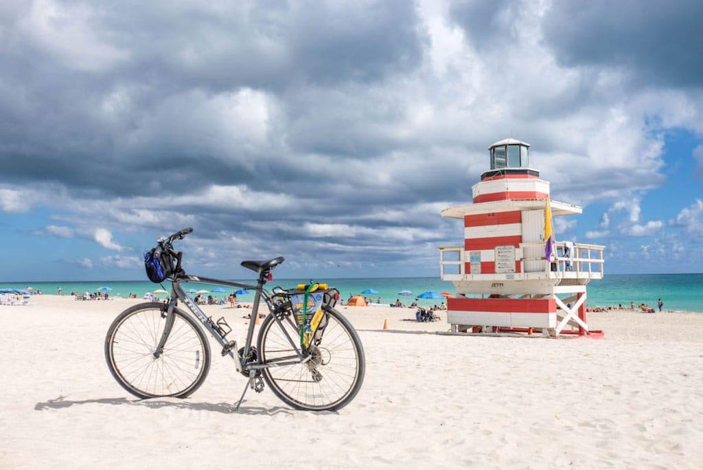 Visiter Miami a velo