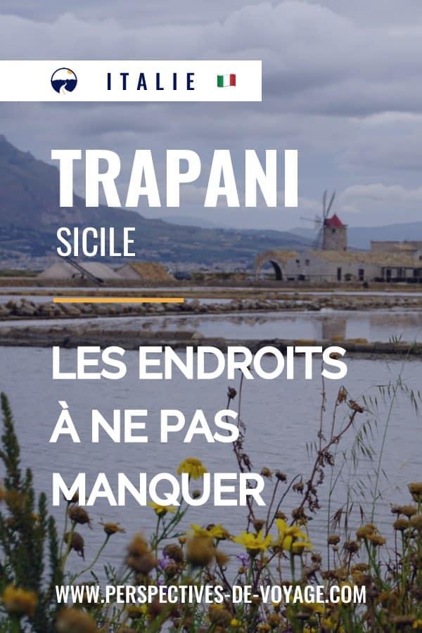 Visiter Trapani en Sicile