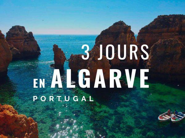 3 jours en Algarve
