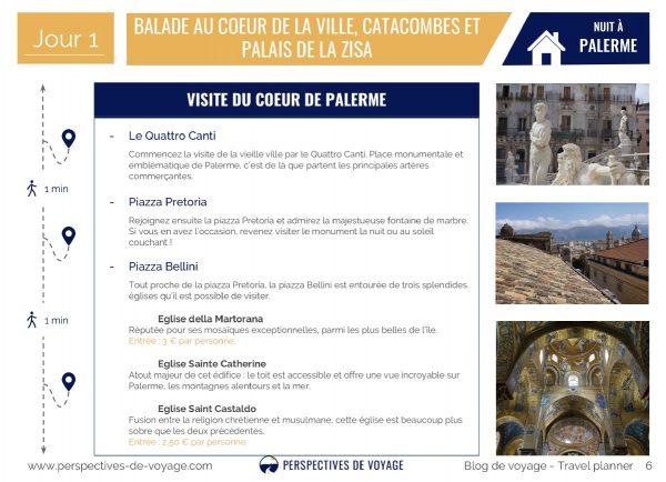 3 jours à Palerme, Italie