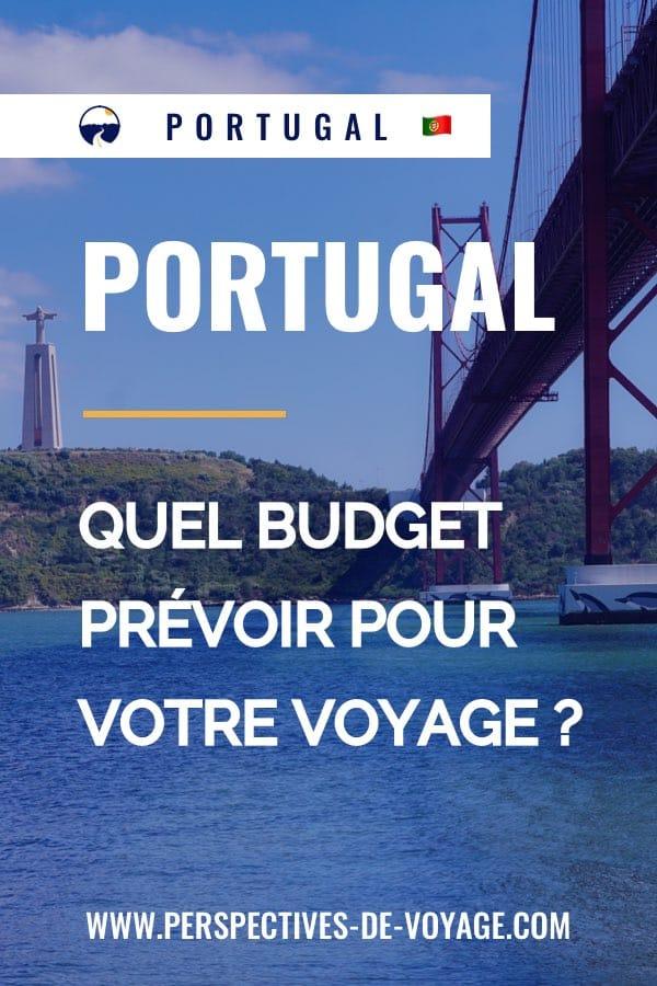 Budget pour un voyage au Portugal