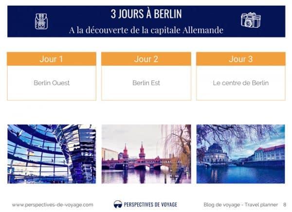 Carnet de route Berlin
