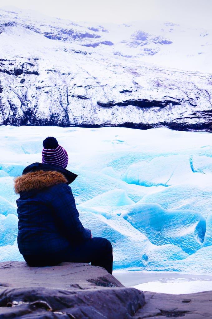 Vatnajökull glacier Islande
