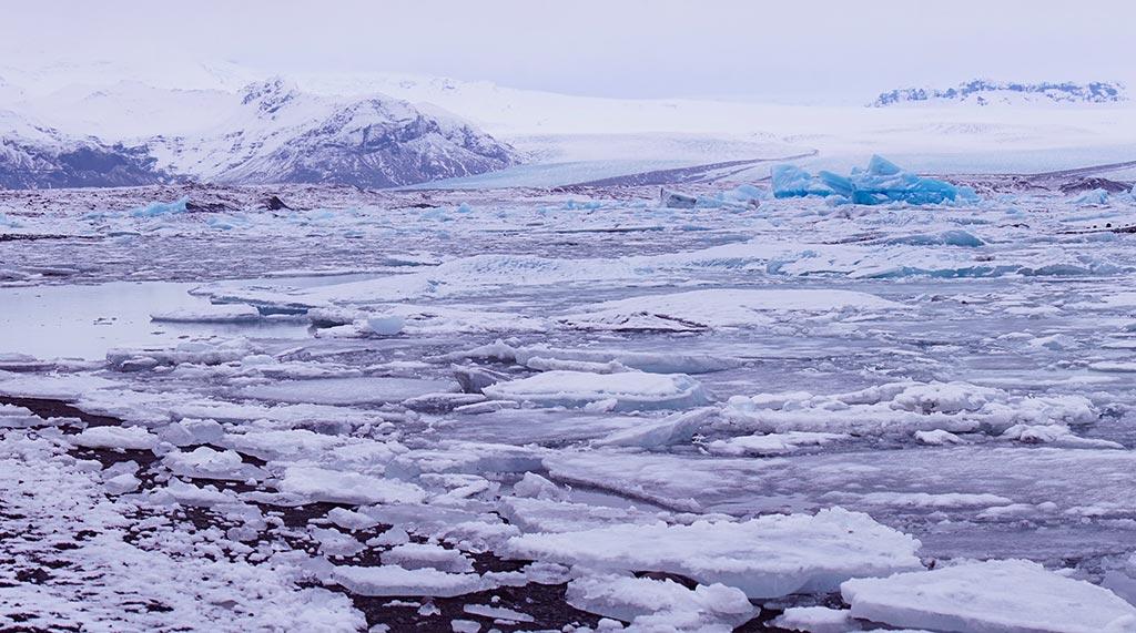 Jökulsárlón en Islande