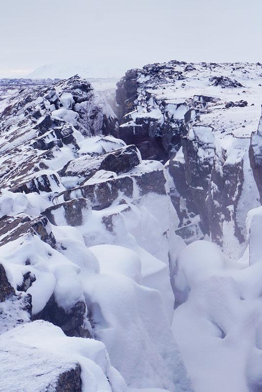 Grjótagjá lac Mývatn