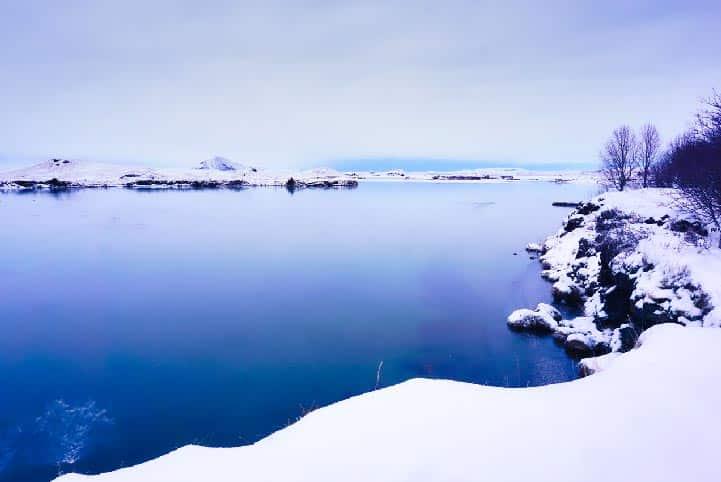 Hofdi sur le lac Mývatn