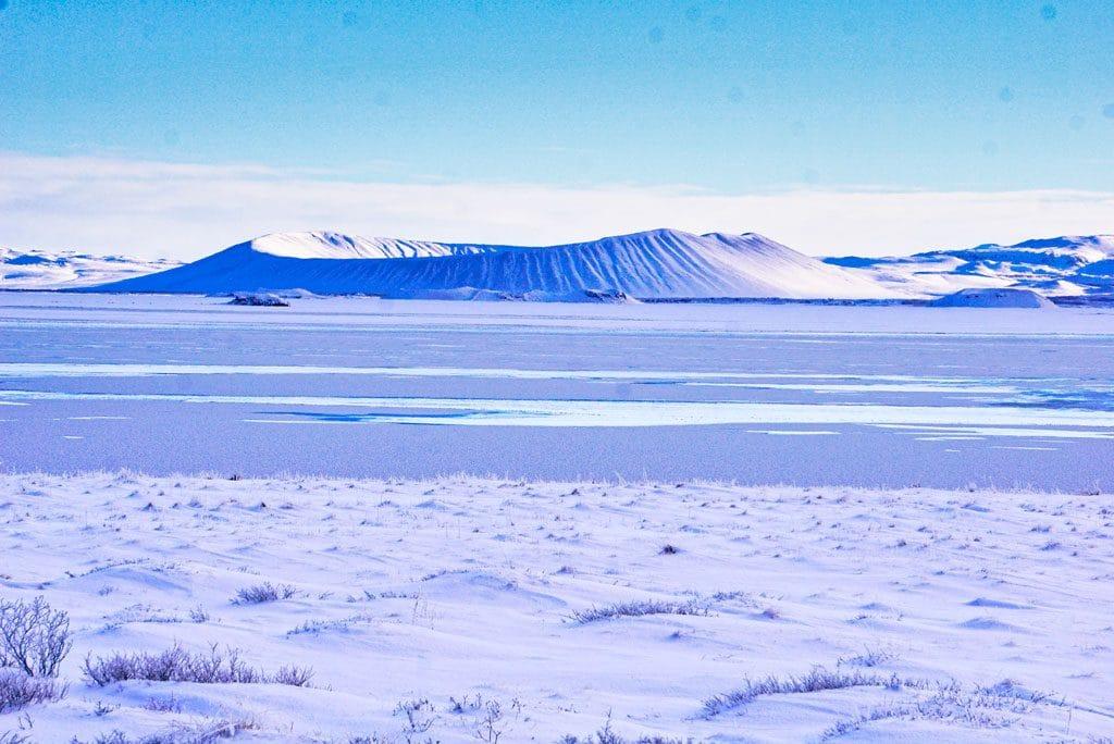 Hverfell nord de l'islande