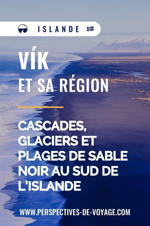 Vik, sud de l'islande