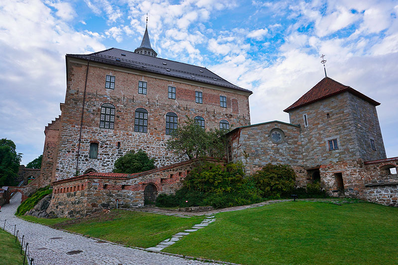 citadelle d'Akershus Oslo
