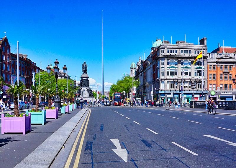 O'Connell Street, Irlande Dublin