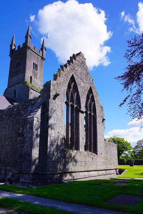 Abbaye d'Ennis en Irlande