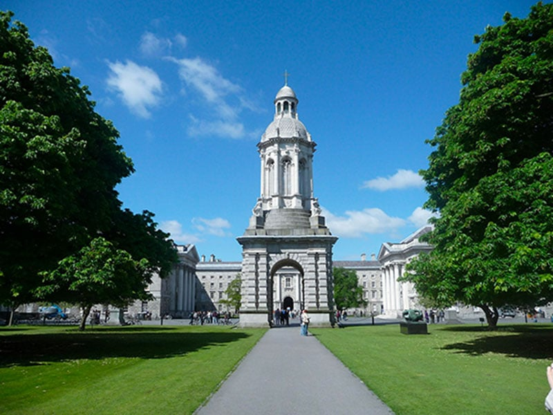 Trinity College Irlande Dublin