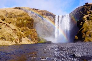 Skogafoss Cascade Islande