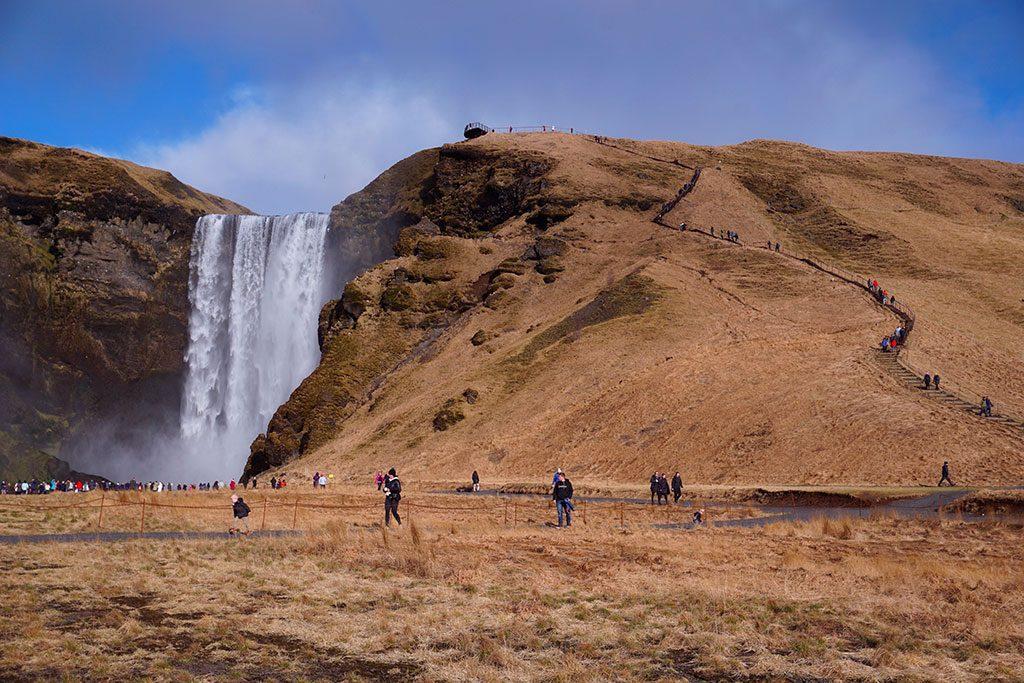 Skógafoss Cascade Islande
