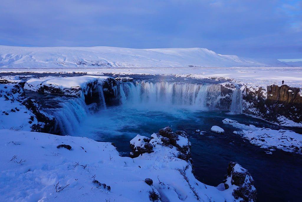 Godafoss Cascade Islande