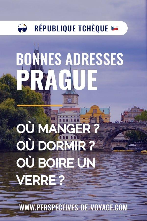 Bonnes adresses à Prague