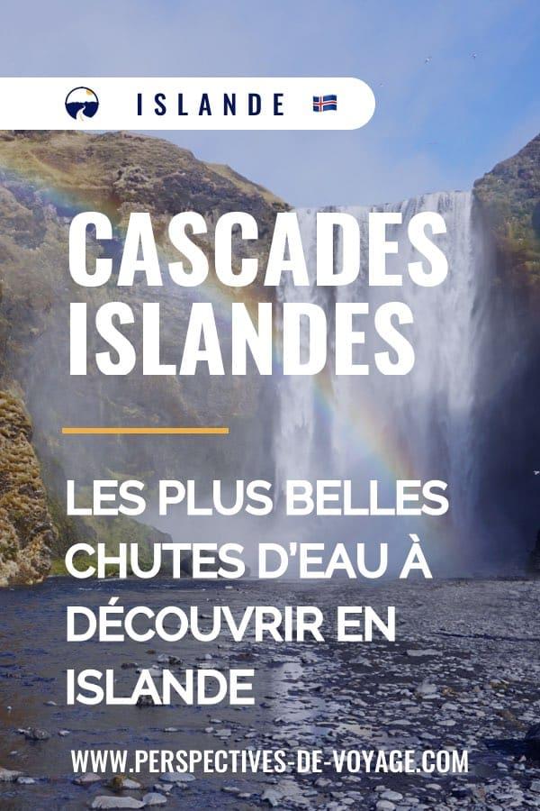cascades islande
