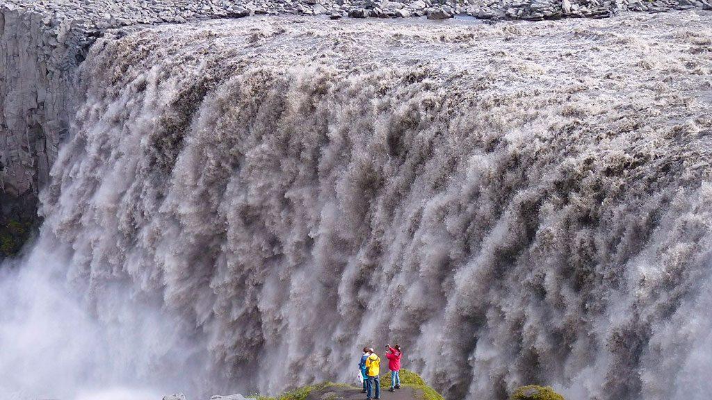 Dettifoss Cascade Islande