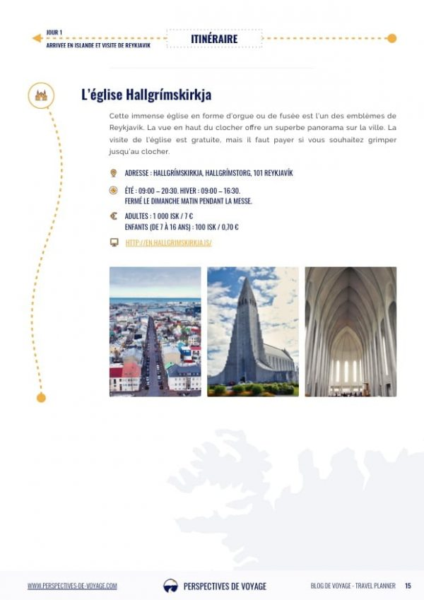 Itinéraire en Islande