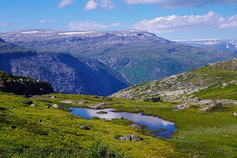 Trolltunga paysage