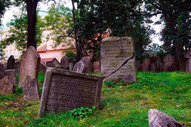 Le cimetière juif de Prague