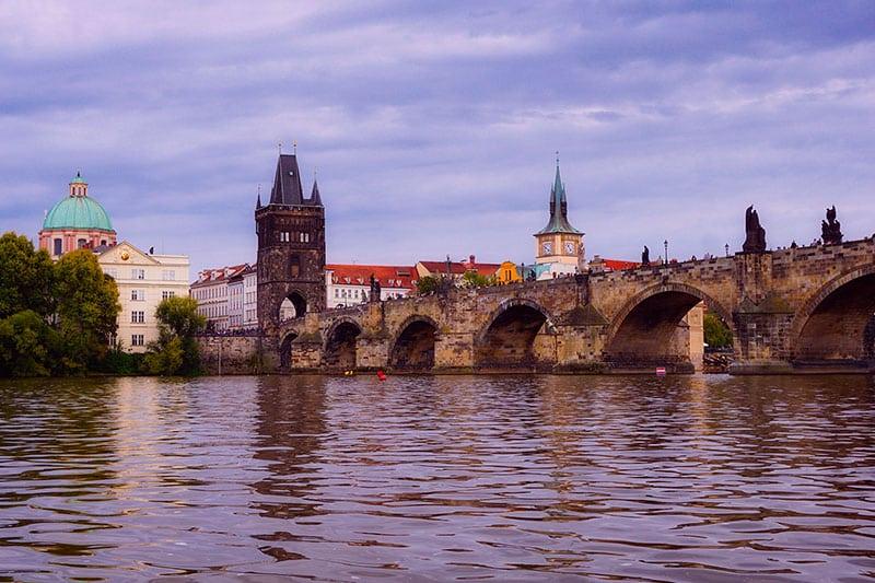 Visiter Prague - Le pont Charles