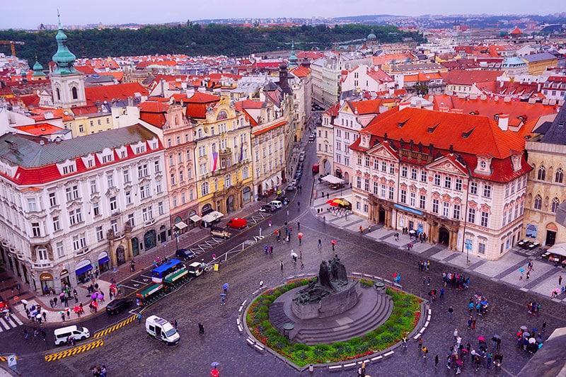 Hôtel de ville de Prague