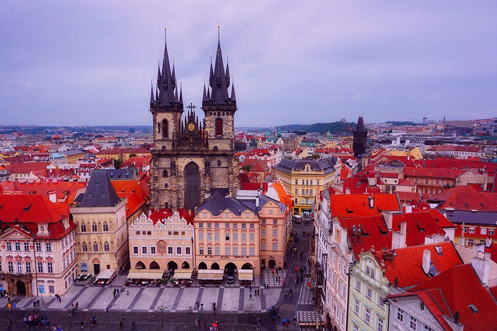 L'Église de Notre-Dame de Týn à Prague