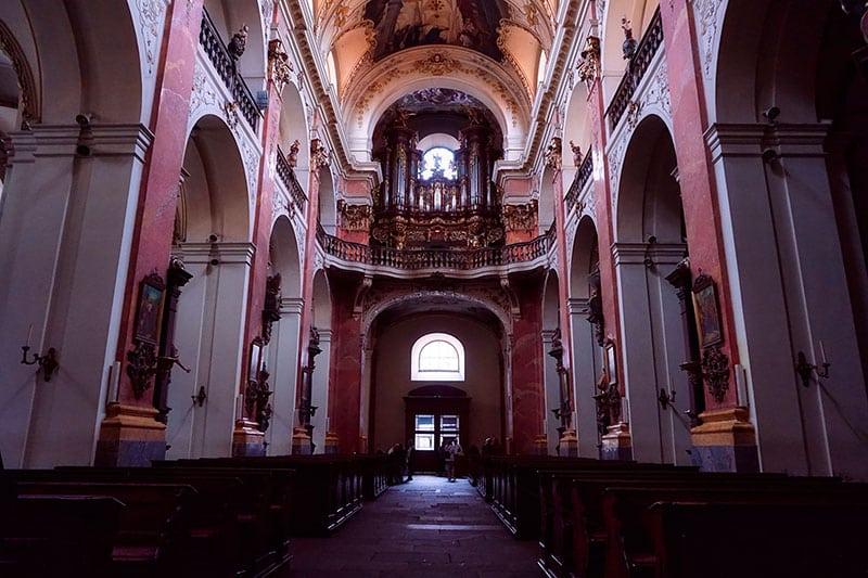 L'Église Saint-Jacques-le-Majeur de Prague