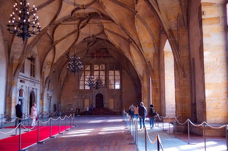 L'ancien Palais royal de Prague