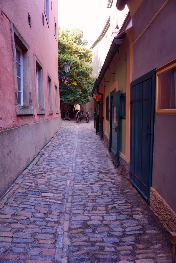 Visiter Prague : la ruelle d'or