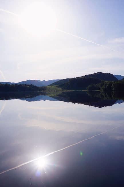 En Norvège, la route 45 jusqu'à Lysebotn
