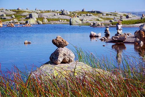 Caïrn en Norvège