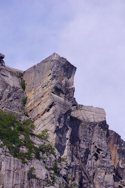 Le Preikestolen depuis Lysefjord