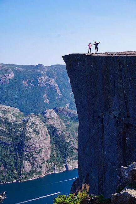 Pulpit Rock, le rocher du Preikestolen