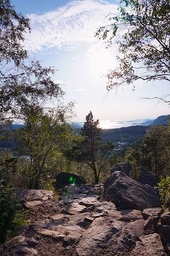 Randonnée du Preikestolen en Norvège