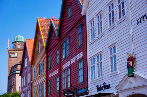 Les quais de Bryggen