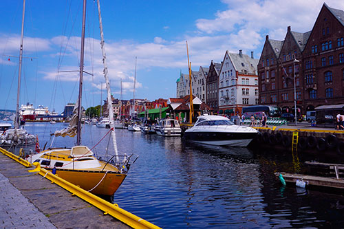 Les quais de Bergen