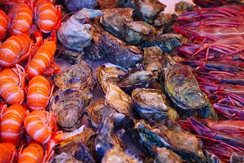 Le marché aux poissons de Bergen