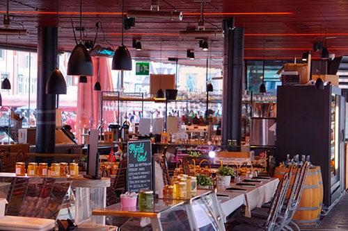 Le marché couvert de Bergen