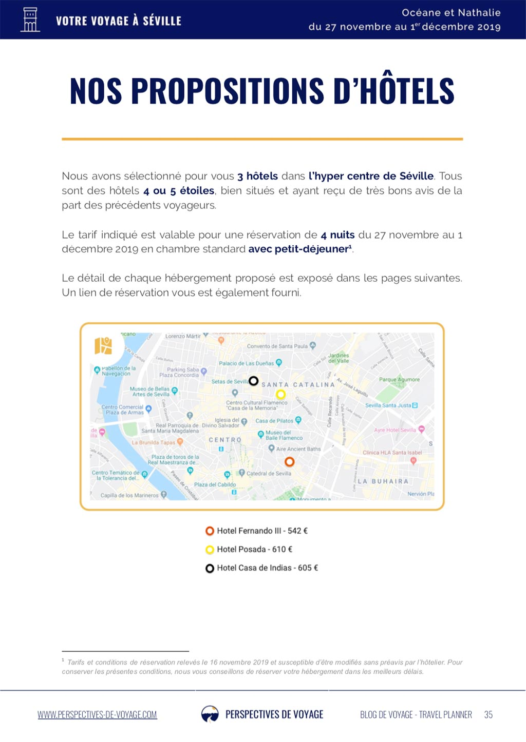 Coach Voyage - Exemple de Carnet de route