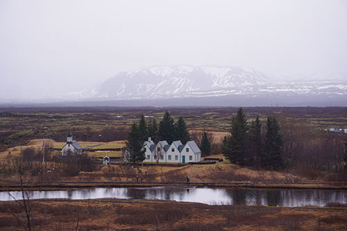 Le parc national de Thingvellir, dans le Cercle d'Or