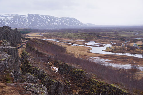 Le parc national de Thingvellir en Islande