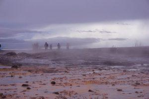 Le site géothermique de Geysir