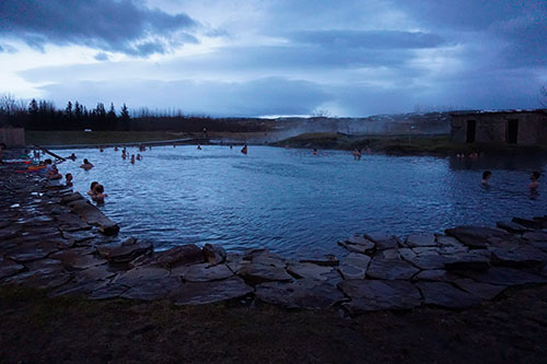 Secret Lagoon en Islande