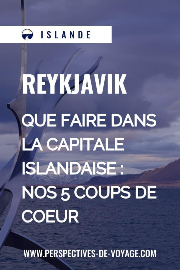 Que faire à Reykjavik