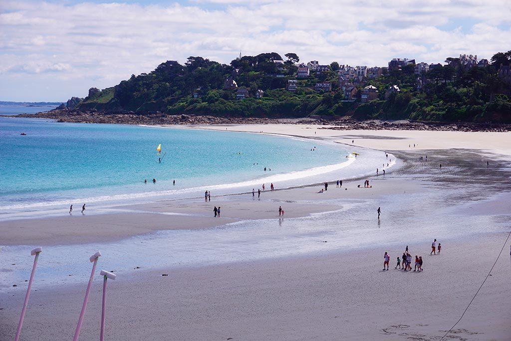 La plage de Perros Guirec