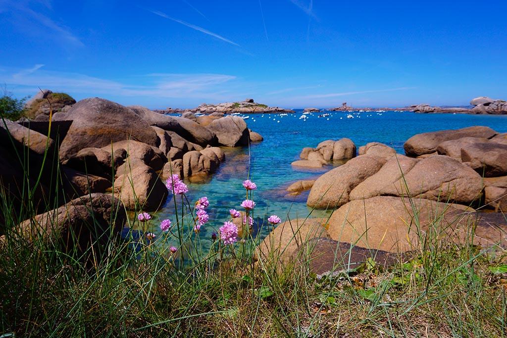 Trégastel en Bretagne