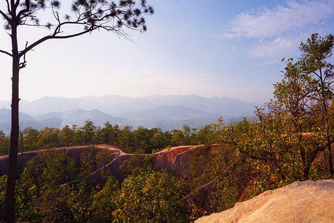 Le Pai Canyon en Thailande